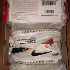 Other - Nike Off white Air Max 97 TEXT (702) 867-0280‼️‼️